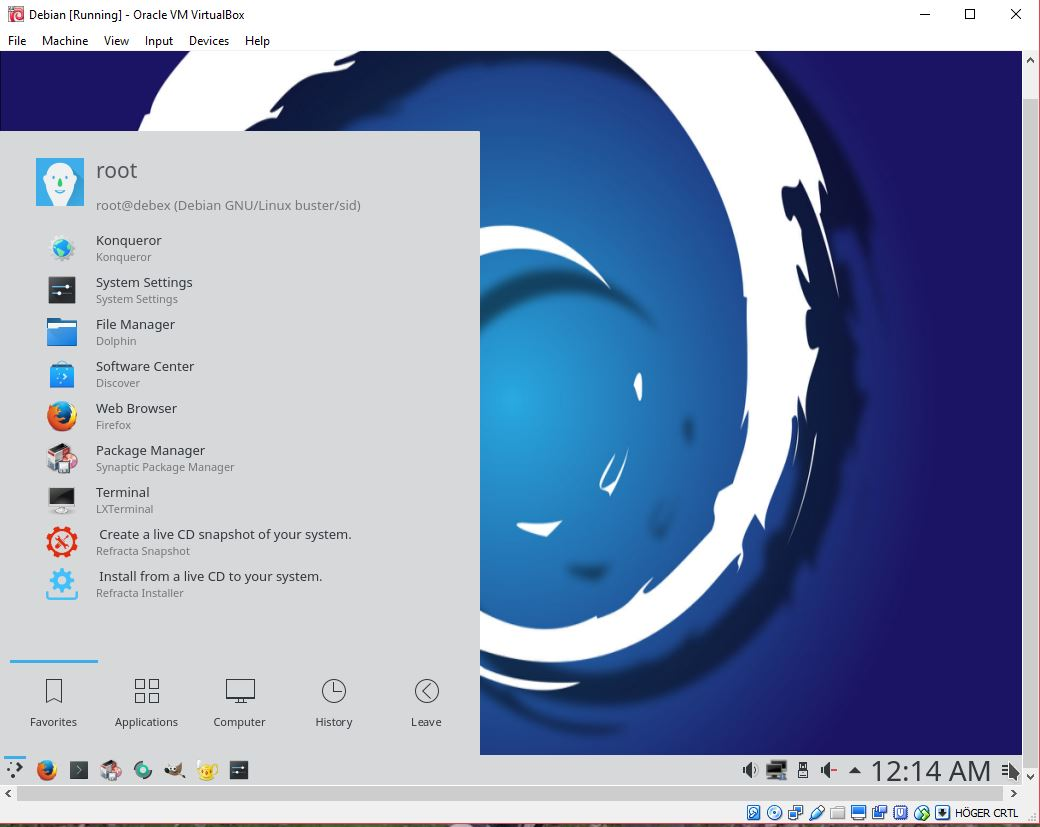 Debian 10 | Exton Linux | Live Systems