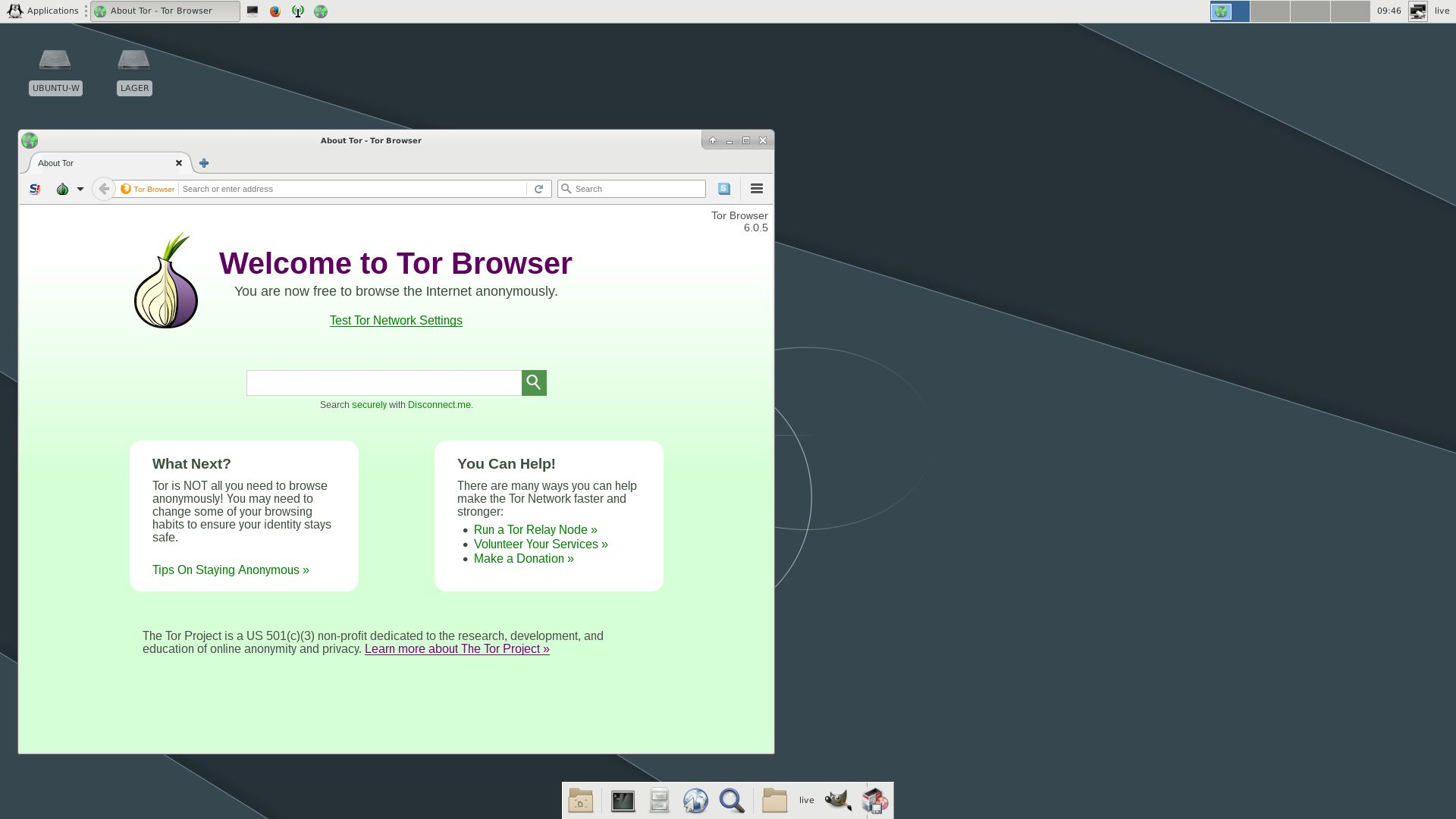 enter network browser